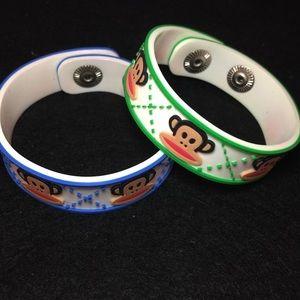 🛍2/$20 Paul Frank PVC bracelets